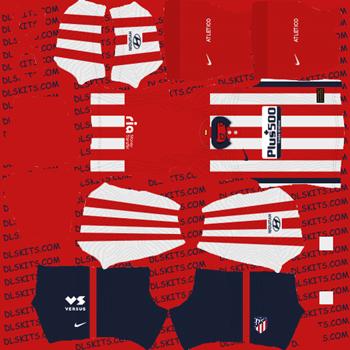 Atletico Madrid Goalkeeper Home Kit 2020 - Dream League Soccer Kits - DLS 20 Kits