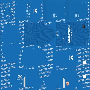 Sevilla FC Goalkeeper Home Kit 2020 - Dream League Soccer Kits - DLS 20 Kits