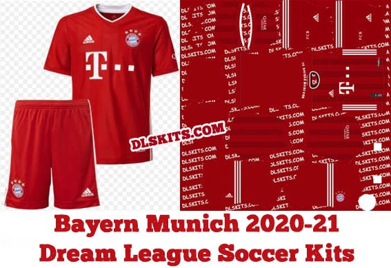 Bayern Munich 2020 21 Dream League Soccer Kits Dls 21 Kits
