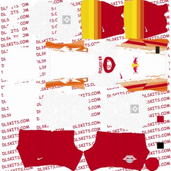 RB Leipzig Home Kit 2020 for Dream League Soccer Kits - DLS 21 Kits