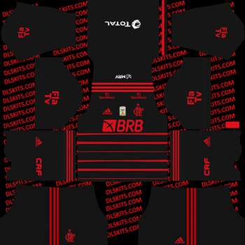 Flamengo FC Third Kit 2021 for DLS 2019